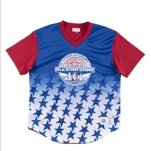 Mitchell Ness Sublimated Mesh V-Neck All-Star 1988